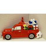 """Rudolph and Me """"Festive Red Pickup Truck"""" Personalizable Ornament New Ol... - $12.98"""