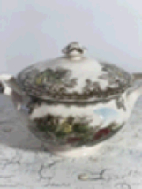 Johnson Brothers The Friendly Village Covered Sugar Bowl - $59.99