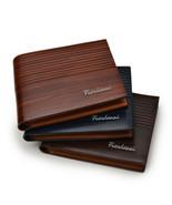 Vintage Men Leather Brand Luxury Wallet Short Slim Male Money Clip Cards... - $8.50