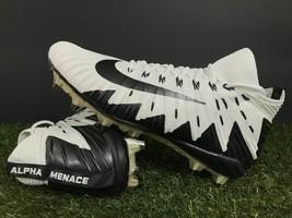 e6aa682fa Nike Alpha Menace Elite Football Cleats White Black 877141-100 Mens Size 13  - $57.95 · Add to cart · View similar items