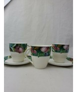 Miskasa Ultimate Plus HK 107 Fruit Collagr Cup And Saucer lot - $14.99