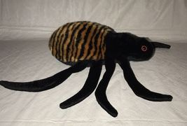 Ty BEANIE BUDDY SPINNER the SPIDER 1999, RETIRED & NEW MWMT image 5