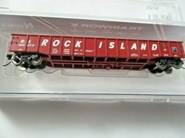 Trainworx Stock # 25243-13 to -18  Rock Island 52' Gondola N-Scale image 1