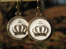Haunted Crown of Angels Earrings Blessings of Light and LOVE - $18.00
