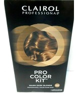 Clairol Professional Pro Color Kit Hair Color Warm Dark Blonde 6B NEW! - $3.98