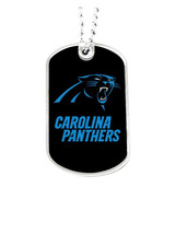 Carolina Panthers Dog Tag Necklace - $9.60