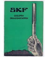 1930s SKF Svenska Kullagerfabriken Catalog Cut ... - $7.32