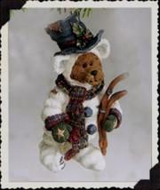 """Boyds Bearstone """"Snowbearski"""" Resin Ornament* #25729- 1E- NIB- 2000- Ret... - $19.99"""