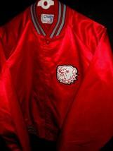 MENS L EC! VTG CHALKLINE USA MADE GEORGIA BULLDOGS NCAA JACKET COAT JERS... - $28.84