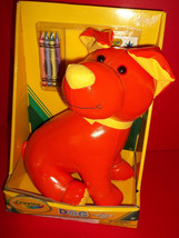 Crayola Craft Kit Dog Hallmark Coloring Activity Toy Crayons Orange Stic... - $23.74