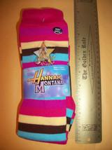 Disney Girl Clothes 9-11 Hannah Montana Socks Shine 2 Pair Footwear Acce... - $5.49