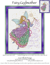 Fairy Godmother JE124 cross stitch chart Joan Elliott Designs - $14.00