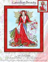 Canadian Beauty JE145 cross stitch chart Joan Elliott Designs - $14.00