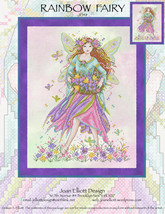 Rainbow Fairy JE148 cross stitch chart Joan Elliott Designs - $14.00
