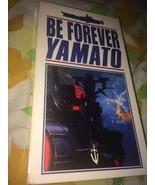 VTG Be Forever Yamato English Subtitles VHS Tape Anime 1995 Voyage Enter... - $20.47
