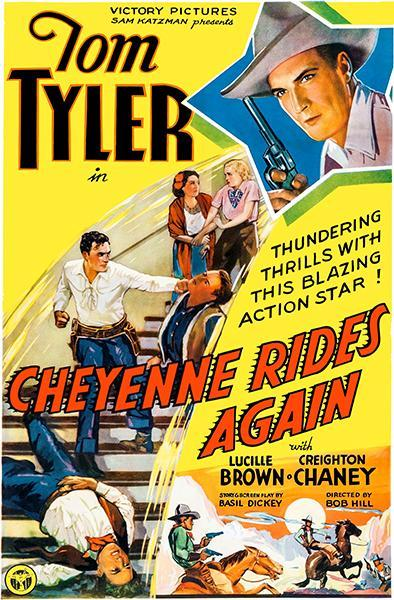Primary image for Cheyenne Rides Again - 1937 - Movie Poster