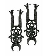 Restyle Maléfique Diable Cornes Pentagramme Crescent Lune Gothique Witch Boucles - $20.68