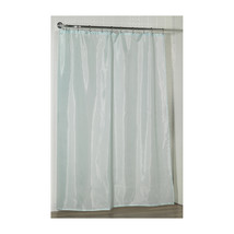Standard-Sized Polyester Fabric Shower Curtain Liner in Spa Blue 1301-SC-FAB-49 - $27.45