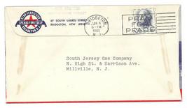 1963 Bridgeton, NJ Vintage Post Office Postal Cover - $9.95