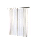 Home Fashions Extra Long Ashley Fabric Shower Curtain 1301-SC-FAB-84-AS - $25.44