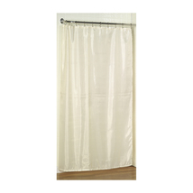 Shower Stall-Sized Polyester Shower Curtain Liner in Ivory 1301-SC-FAB-S... - $24.00