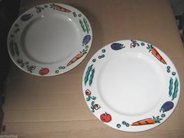 Syracuse China Vegetable Tomato Plates Dinner 9... - $12.99