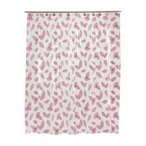 Home Fashions Autumn Leaves Vinyl Shower Curtain in Burgundy 1301-SCV-AL-20 - $22.83