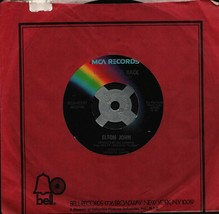 Elton John The Bitch Is Back b/w Cold Highway 45-rpm Record - $7.99