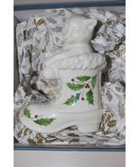 "Lenox Annual Cat in Stocking Ornament 1997 4"" - $19.95"