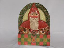 Vintage Christmas Folk Art Greeting Card Box Signed P. Schifferl - $175.00