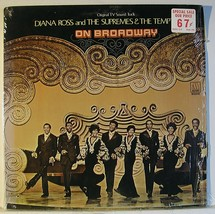 """Diana Ross and The Supremes & The Temptations ON BROADWAY LP 12"""" GF Viny... - $4.95"""