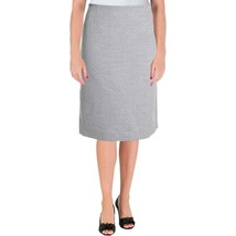 LE SUIT Suiting Separates French Riviera Grey Tweed Skirt NWT 8 Petite - $9.35
