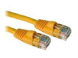 10 ft CAT5e Snagless Patch Cable Yellow - $11.06