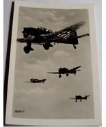 ORIGINAL WW2 GERMAN PHOTO: STUKA DIVE BOMBERS IN FLIGHT - $7.50