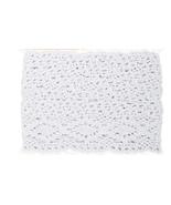 Oyster Blush Jumbo Crochet Trim 1 meter cross s... - $5.00