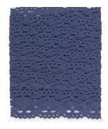 Parisienne Blue Jumbo Crochet Trim 2 meters cro... - $5.00
