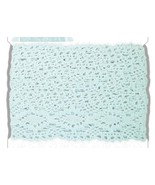 Eau de Nil Jumbo Crochet Trim 2 meters cross st... - $5.00