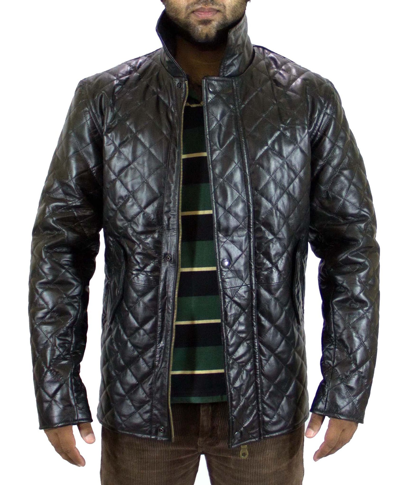 Custom made leather motorcycle jackets