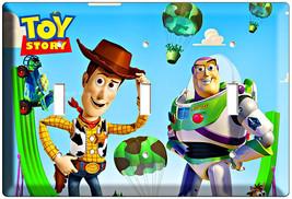 Disney Toy Story 3 Woody Buzz Triple Light Switch Plate Decorative Wall  Plate - $17.99