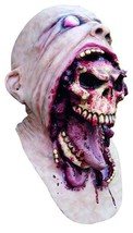 Bursting Face Zombie Horror Adult Latex Scary  Halloween Monster Mask - $64.34
