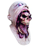 Bursting Face Zombie Horror Adult Latex Scary  ... - $64.34