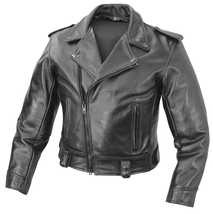 Handmade New Men Stylish Biker Boy Style Brando Leather Jacket, Men jacket - $139.00