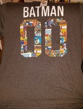 Batman #00 DC Comics Men's Charcoal T-Shirt  (60% Cotton 40% Polyester) New - $11.21