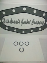 1969-76 KAWASAKI H1500 CARBURETOR TOP GASKETS *REUSABLE* ($3.99caSALE)  ... - $3.11