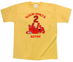 Clifford the big red dog Personalized Yellow Birthday Shirt - $16.99+
