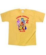Doodlebops Personalized Yellow Birthday Shirt - $16.99 - $22.99