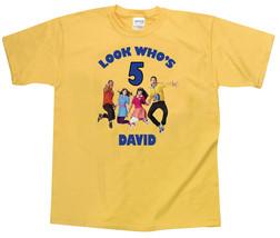 Fresh Beat Band Personalized Yellow Birthday Shirt #2 - $16.99+