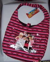 Disney Girl Fashion Purse High School Musical Handbag Star Striped Shoul... - $14.24