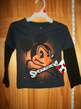 Mickey Mouse Disney Baby Clothes 2T Toddler Shirt Top Halloween Glow In ... - $14.24