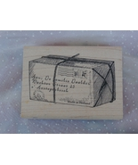 Parcel Package Rubber Stamp Tin Can Mail by Ink... - $4.99